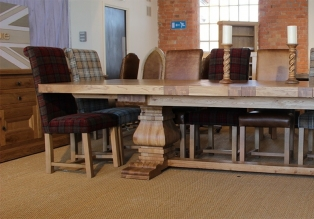 Home main for Monastery extension dining table