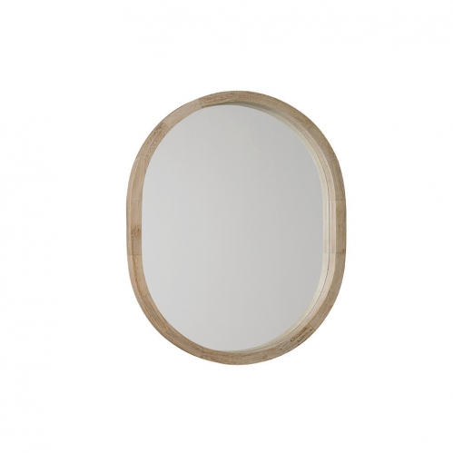 New England Oval Mirror