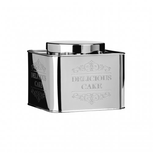 Chai Silver Small Storage Tin