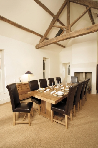 Monastery Large Extending Dining Table