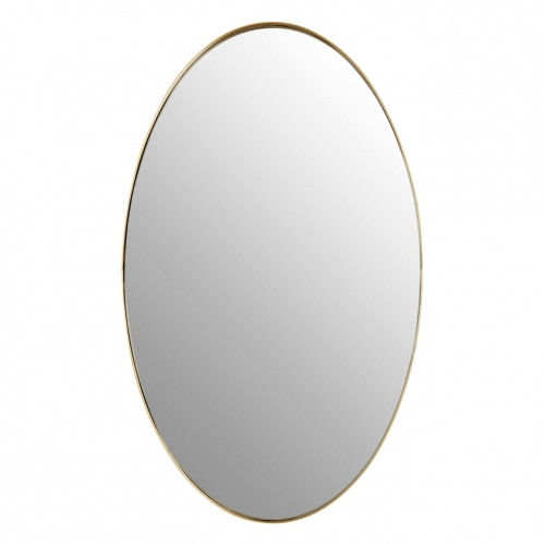 Cora Gold Oval wall mirror