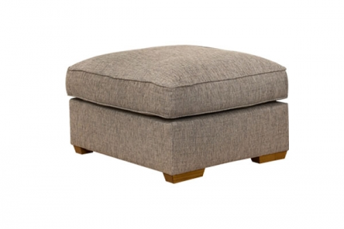Chicago Fabric Footstool