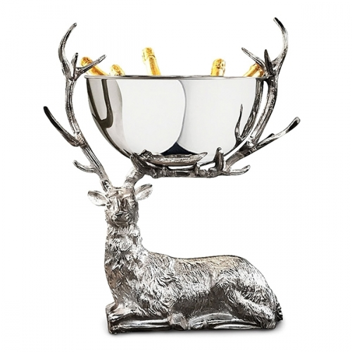 Resting Stag Punch Bowl - Large