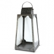 Trapezium Lantern Medium - Galvanised Steel