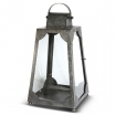 Trapezium Lantern Small - Galvanised Steel