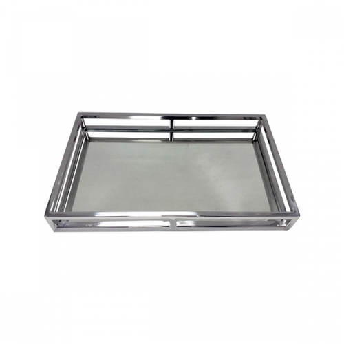 Rectangular Mirror Cut Out Tray - Large