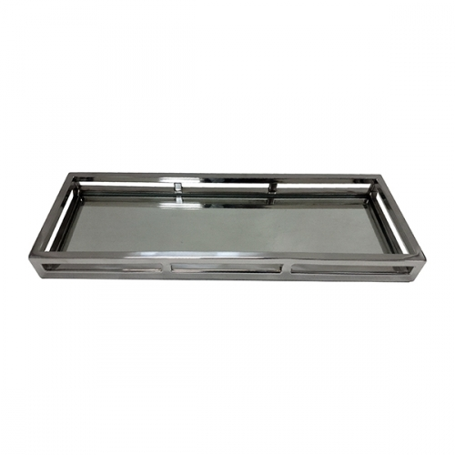 Rectangular Mirror Cut Out Tray - Medium