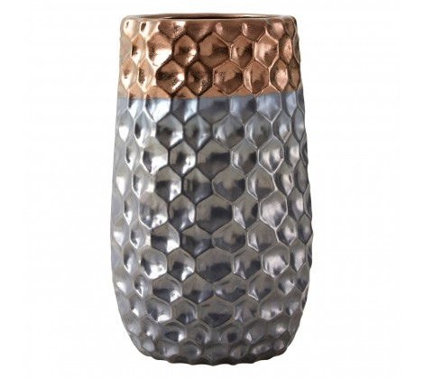 Galaxy Small Metallic Vase