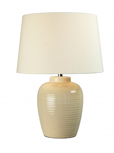 Lume Table Lamp Cream