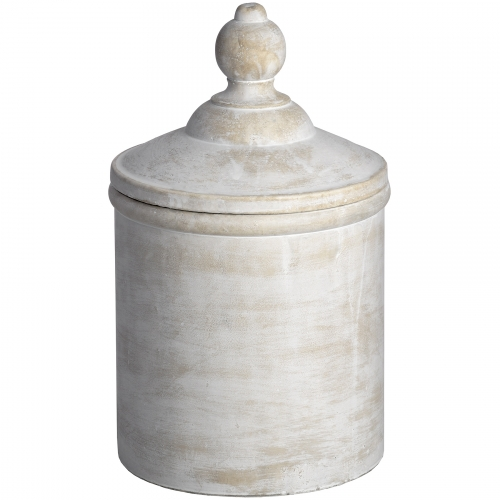 Antique White Cannister
