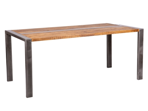Grafton Industrial Dining Table 90 x 90