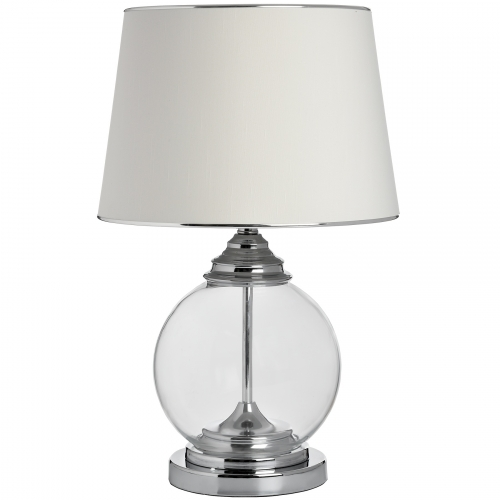 Isadora Glass Metal Table Lamp