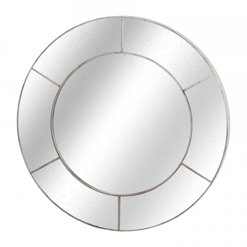 Angustus Circular Window Wall Mirror