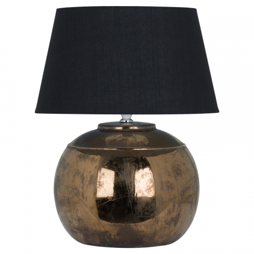 Regola Bronze Metallic Ceramic Table Lamp