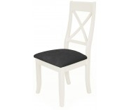 Brompton White X Back Dining Chair