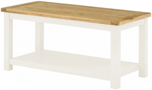 Brompton White Coffee Table