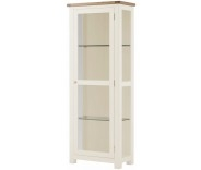 Brompton White Glazed Display Unit