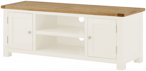 Brompton White Large TV Cabinet