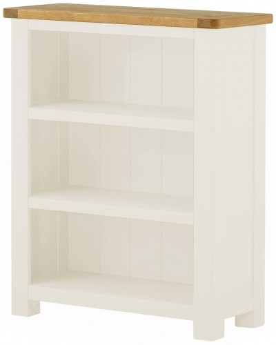 Brompton White Small Bookcase