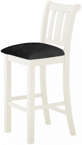 Brompton White Bar Stool
