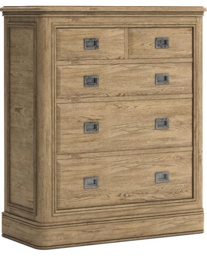 Biarritz French Oak 2 Over 3 Chest of Drawers