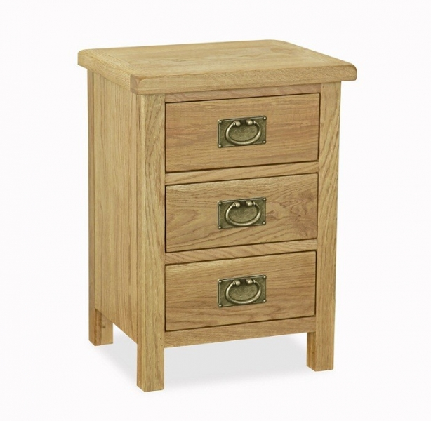 Somerset Waxed Oak Bedside Table