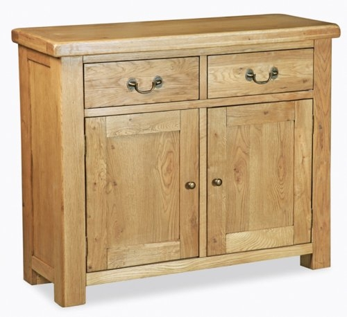 Farmhouse Waxed Oak Small Sideboard