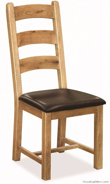 Farmhouse Waxed Oak Dining Chair