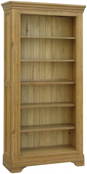 Rochelle French Oak Large Bookcase