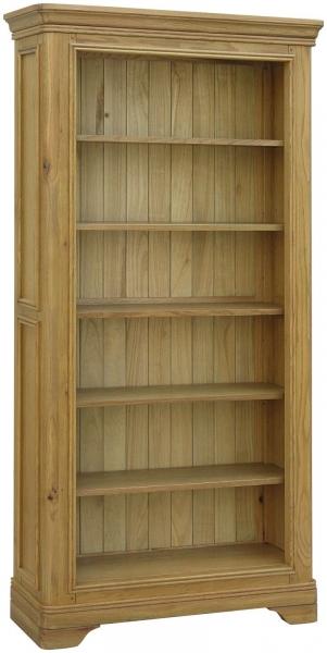 Rochelle French Oak Large Bookcase