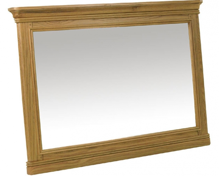 Rochelle French Oak Large Mirror