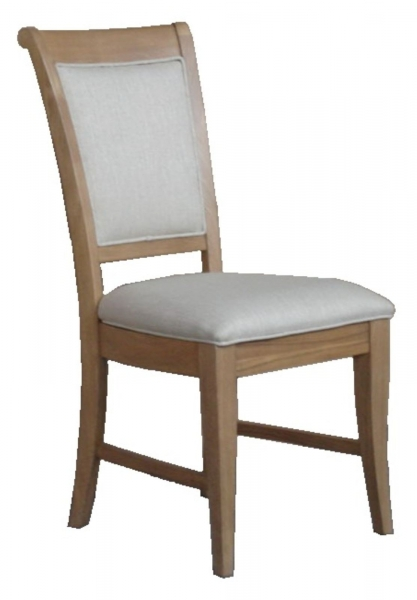 Rochelle French Oak Upholstered Dining Chair