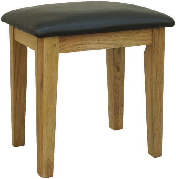 Rochelle French Oak Dressing Table Stool