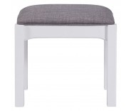 Hastings Grey Painted Dressing Table Stool