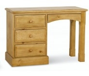 Wellgarth Pine Single Pedestal Dressing Table