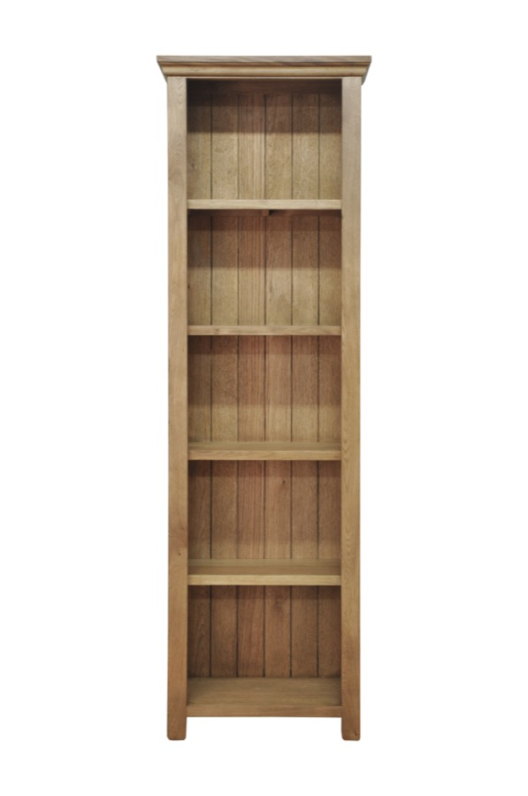 Malvern oak low bookcase furniture traders of thirsk for Furniture traders