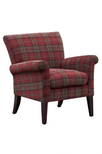 Luca Accent Chair Claret
