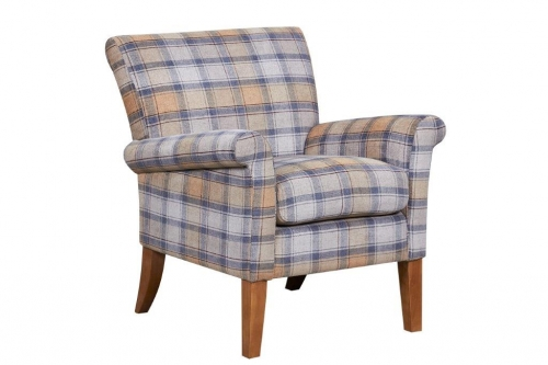 Luca Accent Chair Cornflower