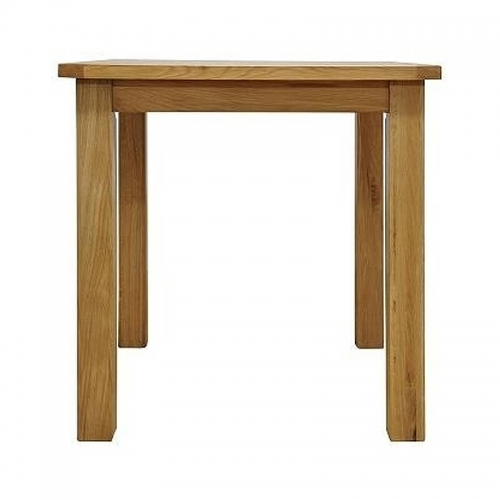 Granby Oiled Oak Small Fixed Top Table