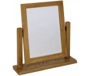 Granby Oiled Oak Dressing Table Mirror