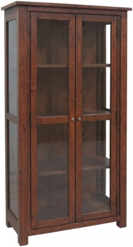 Melrose Reclaimed Pine Display Cabinet