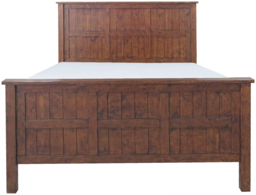 Melrose Reclaimed Pine 5'0 Bed