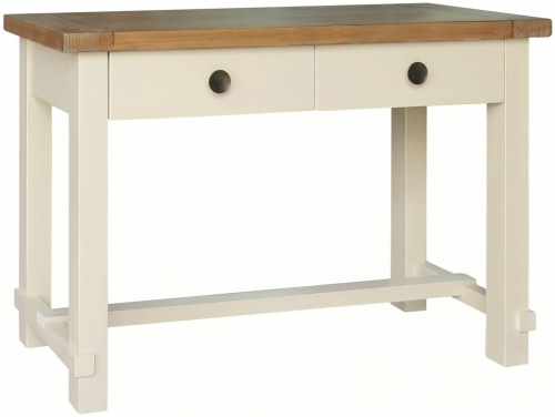 Rosedale Distressed Painted Console Table