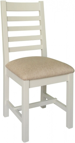 Rosedale Distressed Painted Dining Chair With Cushion