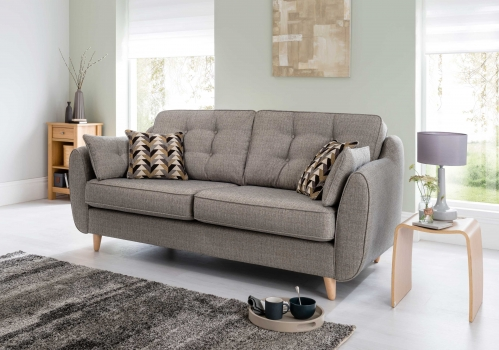 Lazio Fabric Cuddler Chair   Accent Fabric, Furniture Traders Of Thirsk