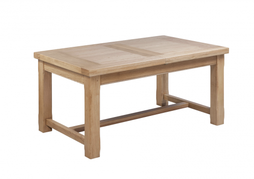 Hebden Solid Oak Small Extending Dining Table