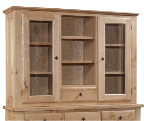 Hebden Solid Oak Hutch