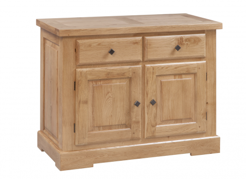 Hebden Solid Oak 2 Door 2 Drawer Sideboard