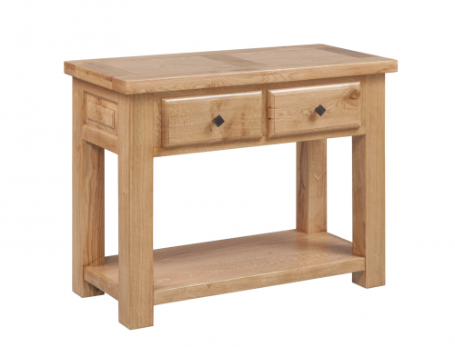 Hebden Solid Oak Console Table