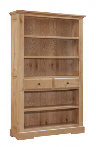 Hebden Solid Oak Bookcase